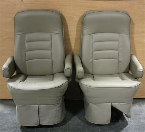 Flexsteel Rv Captains Chairs Parts by Rv Furniture Used Flexsteel Ultra Leather Rv Captain Chair