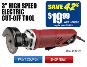Electric Car Harbor Freight Electric Cut Tool