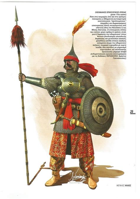 Soldat Ottoman by Ottoman Cavalry Soldier Siege Of Handaka Crete