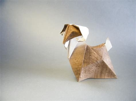 Origami Goat - this week in origami japanese white eye edition