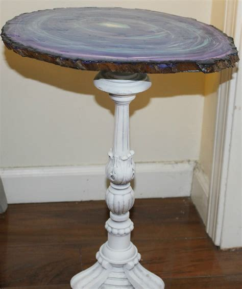 Create A Faux Agate Side Table Thrift Store Decor