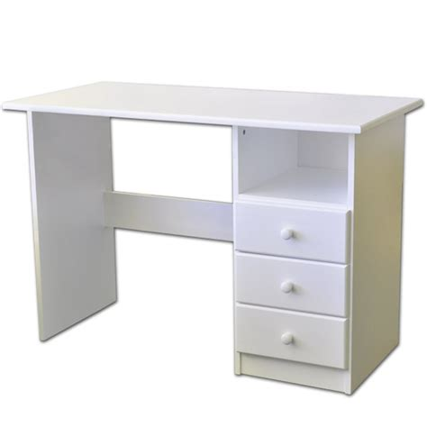 student white desk computer desk white youth student desks solid wood
