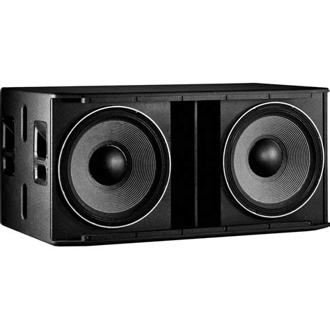 jbl srx828sp 2000 watt powered dual 18 inch subwoofer featuring crown lification