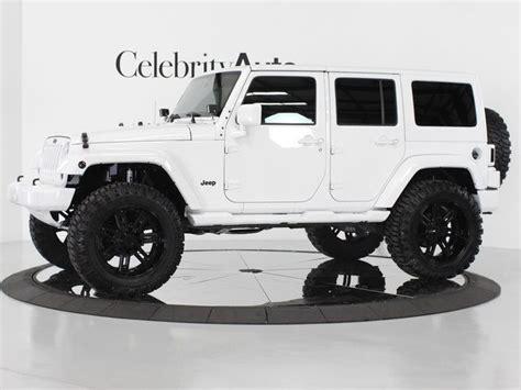 jeep white and black white 4 door jeep wrangler i prefer the black soft top