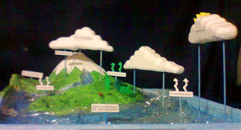maqueta sobre el agua para alumno de 3 grado como hacer maquetas maqueta ciclo del agua