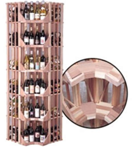 Angled Wine Rack by Angled Curved Corner Wine Display Commercial Wine Rack