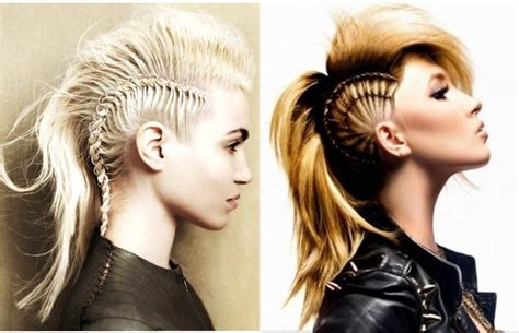 Womens Mohawk Hairstyles by Mohawk Hairstyles For With Hair