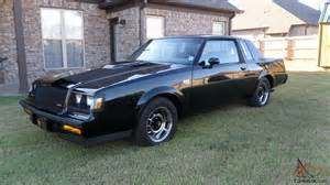 1987 Buick Grand National Value 1987 Grand National Buick