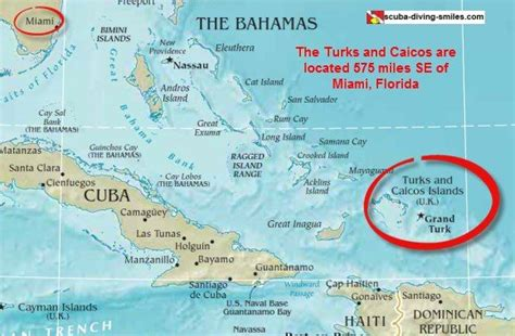 map of turks and caicos turks and caicos map my