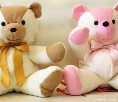 pattern teddy bear sew a memory with these 19 free patterns for teddy bears