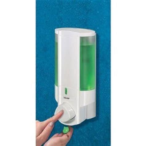 Soap Dispenser 400ml Single White aviva single white soap dispenser