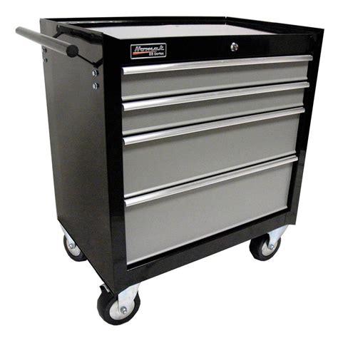Rolling Drawer Slides Husky 27 In W 4 Drawer Tool Cabinet Black H4tr1r The
