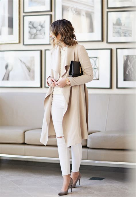 Compare Contrast Wearing A Winter White Coat by How To Wear Winter White 24 East