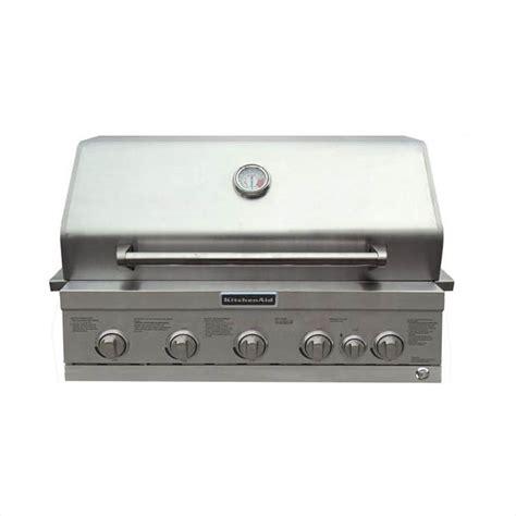Kitchenaid Grill Gas Conversion Kitchenaid 4 Burner Built In Propane Gas Island Grill