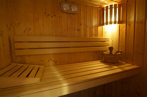 Impressionnant Salle De Bain Avec Sauna #1: sauna.jpg