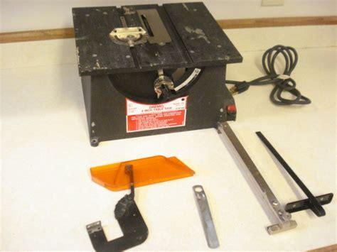 dremel 4 inch table saw condition ebay