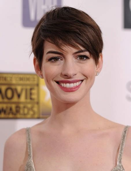 The Haircut 2013 | anne hathaway short pixie haircut 2013 fashion trends