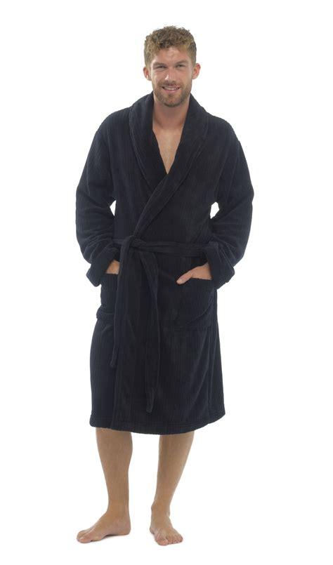 full length bathrobe mens luxury full length velour fleece robe dressing gown