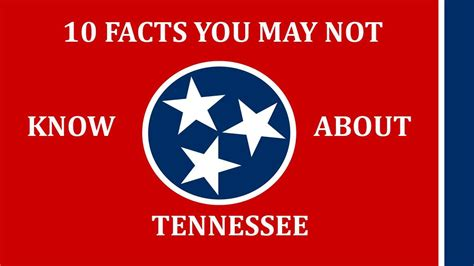 10 things you may not know about adding color to your tennessee 10 facts you may not know youtube