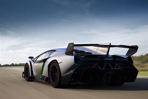 Lamborghini Verno Lamborghini Veneno And Its Rear Wing Officially
