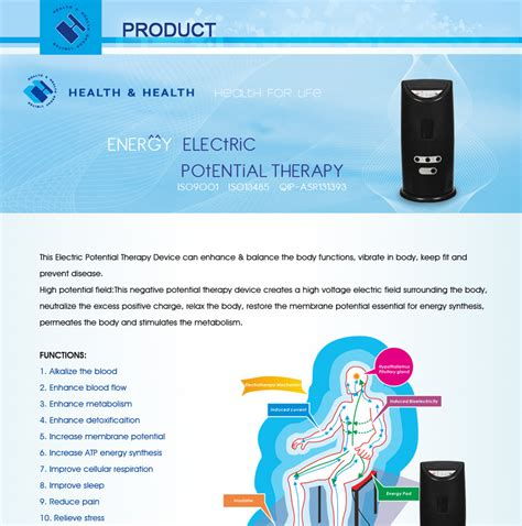 High Potensial Therapy 9000v high voltage galvanic therapy principle application use time high voltage therapy