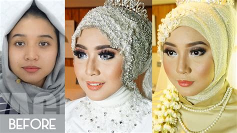 tutorial make up pengantin muslimah cara make up pengantin saubhaya makeup
