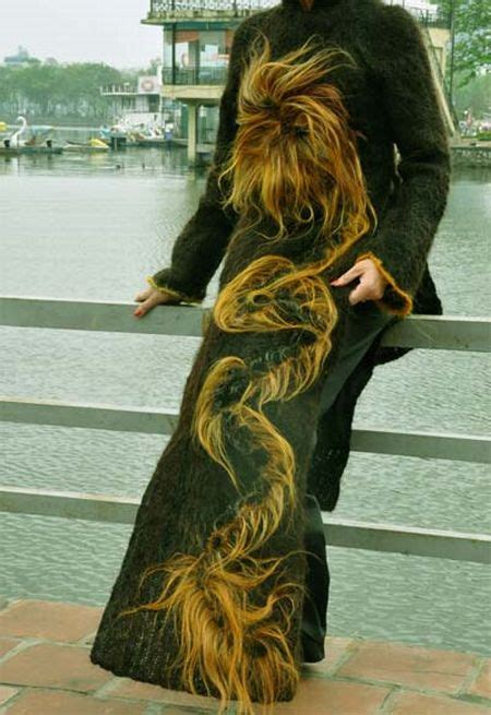 Dress Made From Human Hair Would You Wear It by Dress Made From One Million Meters Of Human Hair
