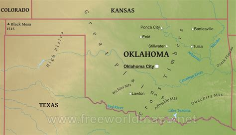 map of the united states oklahoma map us oklahoma 28 images oklahoma political map