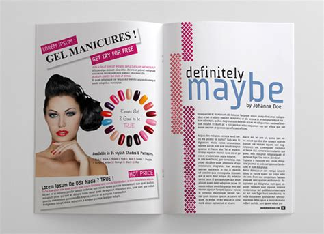 24 pages woman magazine on behance
