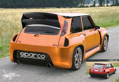 renault 5 tuning view of renault r5 turbo 2 photos video features and