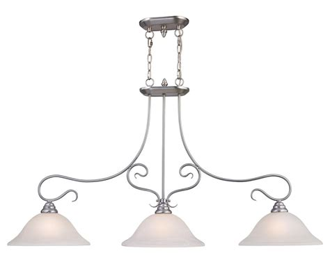 Brushed Nickel Island Lighting 3 Light Livex Brushed Nickel Coronado Kitchen Island Lighting Fixture 6108 91 Ebay