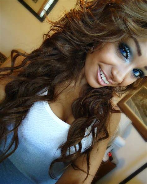 light brown curly hair light brown hair hair color curly makeup eye makeup