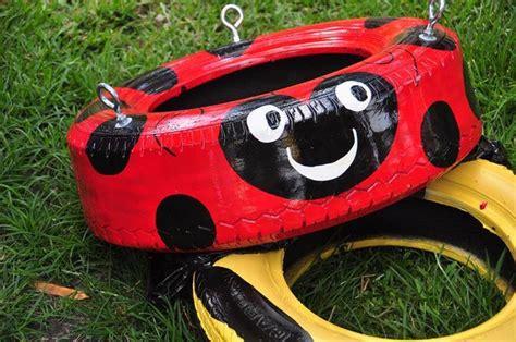 homemade tire swing homemade tire swings outside pinterest