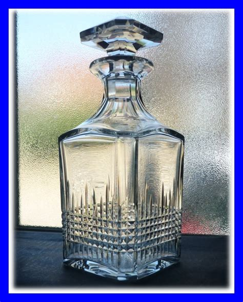 Carafe Baccarat Modèle Nancy baccarat modele nancy carafe a whisky