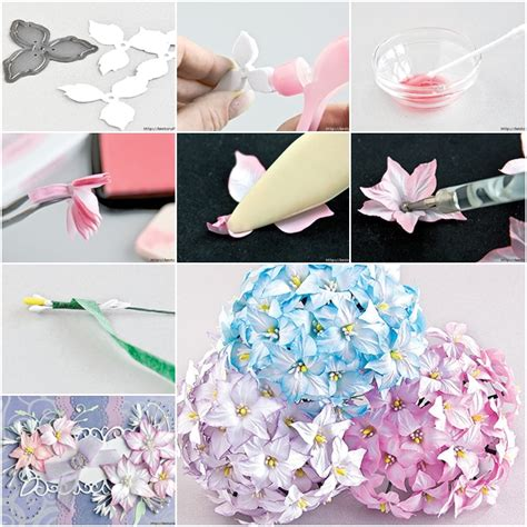 How To Make Colored Paper Flowers - how to make ink colored paper flower fab diy