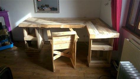 Pallet Desk Design Ideas Pallets Designs Diy Computer Desk Plans