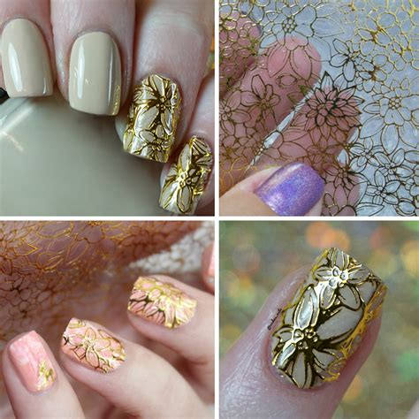 Nail Sticker Temporary Nail Stiker Kuku Flower 39 stickers flowers reviews shopping stickers