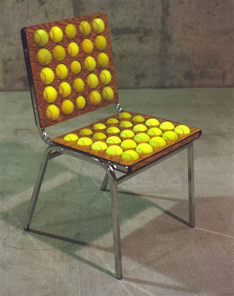 tennis chair posture he cuts 50 big holes out of his chair but what he puts