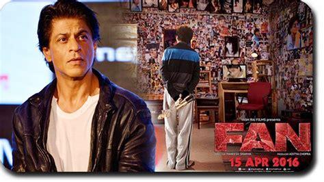 film fan shahrukh khan reacts to fan movie poster youtube