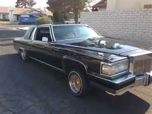 85 Cadillac Coupe Purchase Used 85 Cadillac Fleetwood Brougham Lowrider In