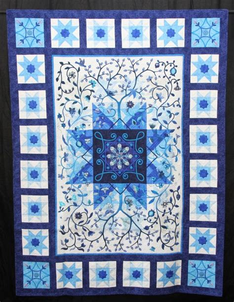Blue Quilt 1000 Images About Blue Quilts On Snowflakes