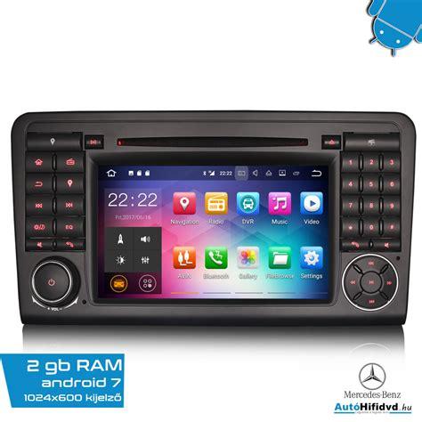 Android Ram 1 Giga 218 j mercedes aut 211 hifi m 225 rka specifikus 7 quot aut 243 hifi magyar waze