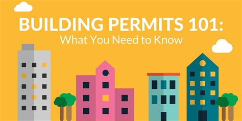 what to know about building a home infographic building permits 101 what you need to know