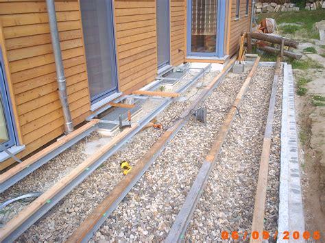 terrasse unterbau referenzen 171 zimmerei dachdeckerei oliver frank aus