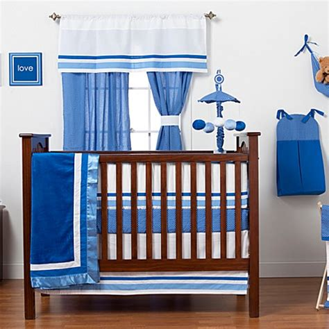 blue nursery bedding sets one grace place simplicity blue crib bedding set accessories bed bath beyond