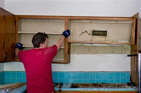 how to demo kitchen cabinets kitchen demolition simple practical beautiful
