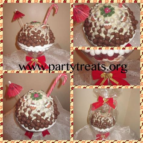 christmas sweet cocktail pudding www partytreats org