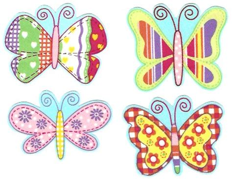 printable iron on appliques fabric print design butterflies iron on fabric appliques