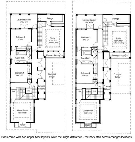 new orleans house plans narrow lots arts throughout new 17 best ideas about courtyard house plans on pinterest