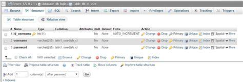 membuat database mysql di ubuntu membuat sistem login logout codeigniter dengan database